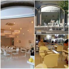 #classy We're proud to be part of the interior design project of Pepe Bianco: a classy restaurant in Sorrento, one of the most iconic places in Italy. #designchair www.gaber.it  - In these pictures Gaber's Marostica chair and Venus Square table -