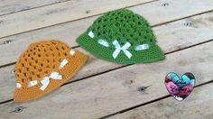 Chapeau été granny au crochet tutoriel gratuit DIY Lidia Crochet Tricot
