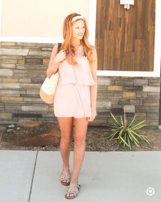 Headband//tie//spring//spring vibes//peach//red hair// style inspo