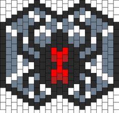 Black Widow Bead Pattern