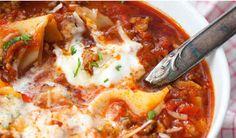 Lasagne Suppe - Kochkarussell.com