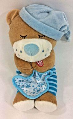 11e9afe9a Spark Create Imagine Praying Teddy Bear Blue Blanket Plush Baby Sound 12