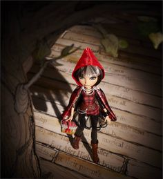 Ever After High Cerise Hood. Little Red Riding Hood and The Big Bad Wolf's daughter