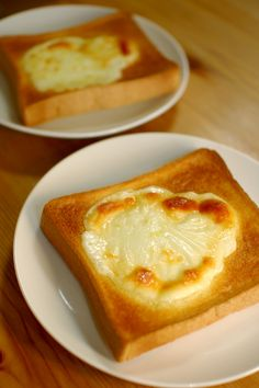 Food in Japan isn't all fish and soy. Everyone likes a good cheesy toast, right?