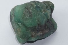 43.80Ct Emerald Loose Gemstone Raw Rough Untreated Unheated Mineral Specimen #Unbranded