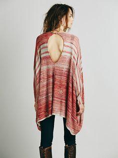Kimonos are so sexy ! Free People Sunfaded Kimono, $148.00