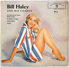 Bill Haley and his Comets Cover Art, Lp Cover, Vinyl Cover, Vinyl Record Art, Vinyl Cd, Vinyl Records, Lps, Ella Fitzgerald, Easy Listening