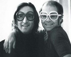 "John Lennon and Elton John --- They collaborated on an incredible song.... sang together ... it was great ""Whatever Gets you Through The Night"" --- Gotta admit, what a JOHN Lyric that was. (especially since Elton did all his famous work w/Bernie Taupin writing the words) ___ 1970s friends, hitmakers. John kinda bungled around * & quietly made hits w/BOWIE (Fame Fame Fame) and w/Nilsson Schmilsson --- Amazing work. All hush hush. Fabulous ! The 1970s collabs of Lennon. THAT would be a good…"