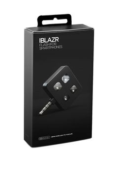 Genuine iBlazr LED Flash Black Color For iPhone Androids And Windows Devices #Iblazr