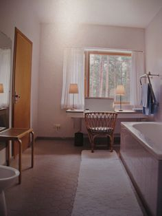 Villa Mairea / Talo numero kolme: Kylpyhuone