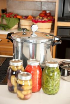 Pressure cooking-canning