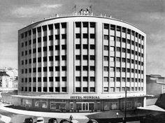 Hotel Mundial, Lisboa, Pardal Monteiro, anos 50.