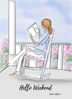 Hello Weekend by Heather Stillufsen Hello Weekend, Bon Weekend, Happy Weekend, Weekend Days, Happy Tuesday, Positive Quotes For Women, Positive Life, Image Beautiful, Weekend Quotes