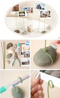 With wire coat hangers or similar - DIY CRAFTS & MORE