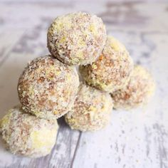 lMy go to on the go snack Lemon Almond Truffles! Moreish is an understatement! Check them out here https://youtu.be/A94q7UkgAmI #vegan #rawvegan