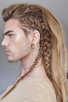 Vikingos Vikingos The post Vikingos appeared first on Frisuren Blond. # Braids for men faux hawk Vikingos - Frisuren Blond Viking Braids, Mens Braids, Oprah Winfrey, Male Hairstyles, Braided Hairstyles, Viking Hairstyles, Drawing Hairstyles, Long Hairstyles For Men, Long Hair Styles