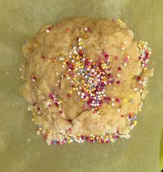 Sprinkle cookie Sprinkle Cookies, Sprinkles, Cake, Desserts, Food, Tailgate Desserts, Deserts, Kuchen, Essen