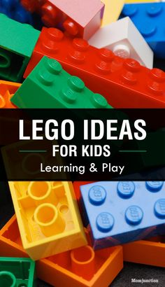 Lego Activities For Kids: Read on to know of some fun and interesting activities that your kid can do using Lego.