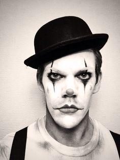 Dark circus clown