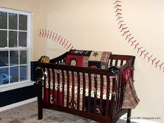 Cute baseball nursery