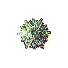 ALEXANDRIA EMERALD SNAP JEWEL $6.95 http://www.sparklyexpressions.com/#1019