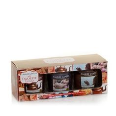 Small Tumbler Gift Set in Holiday 2 2012 from Yankee Candle on shop.CatalogSpree.com, my personal digital mall.