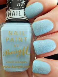BarryM  Atlantic Road  Polished Criminails:Textured Nail Effects
