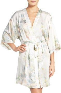 Main Image - Jenny Yoo Isabella Floral Print Kimono Robe