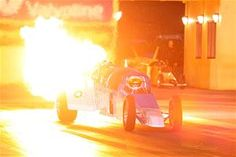 You have to love jet-powered flame-throwing dragsters! (credit - dragphotos.com.au)