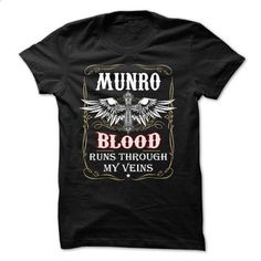 (EXCLUSIVE) MUNRO Blood 2015 MK64T02 - #baggy hoodie #moda sweater. BUY NOW => https://www.sunfrog.com/Names/EXCLUSIVE-MUNRO-Blood-2015-MK64T02.html?68278
