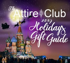 The 2019 Attire Club Holidays Gift Guide – Attire Club by Fraquoh and Franchomme Christmas Gift Guide, Holiday Gifts, Winter Holidays, Style Ideas, Presents, Neon Signs, Club, Seasons, Xmas Gifts