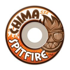 Spitfire Chima Chill Out 52mm Skateboard Wheels - Products - Boardworld