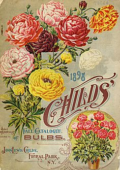 John Lewis Childs  Childs' Fall Catalogue of Bulbs (1898)