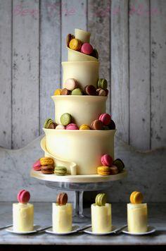 Macaron Wedding Cake by Ben The Cake Man, via Flickr