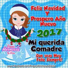 Frases Eloisa: Feliz Navidad y Prospero Año Nuevo 2107 mi querid@: