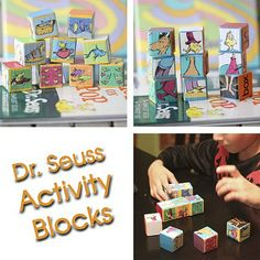 cut up a 2x2 and make some fun blocks with recycled books photos, etc.