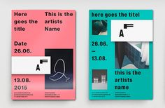 Work / Graphic Design Frankfurt's We Do graphic design studio can do, and very well indeed