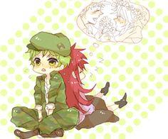 Image about kawaii in HTF by Miki Takido on We Heart It Friend Cartoon, Friend Anime, Happy Tree Friends Flippy, Htf Anime, Duck Cartoon, Retro Aesthetic, Tree Art, Manga Art, Animated Gif