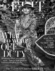 Kate Moss sur The Edit 2 Juin, 2016 Couverture
