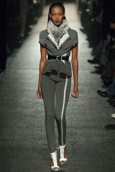 Alexis Mabille - There were touches of athleticism but the best looks were ones that were light and feminine. Thestyleweaver.com Fall 2015 Ready-to-Wear