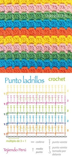 color patterns crochet