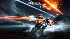 Battlefield 3 Bike Action In HD Quality Picture | Game HD Wallpaper
