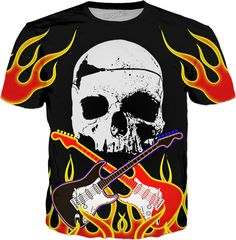 Check out my new product https://www.rageon.com/products/flamin-skullnstratbones on RageOn!