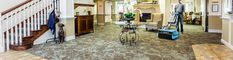 Fast, economical and hygienic floor cleaning for every surface in your retirement home facility.  A clean, healthy, and hygienic environment for residents in nursing and residential care homes is of the utmost importance. Offensive odors, spots, spills and stains are removed leaving floors and carpets dry and soil free. Thousands of satisfied Rotowash users depend on the Rotowash for its quality and overall cleaning efficiency.