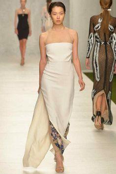 Marios Schwab Spring 2014 Ready-to-Wear Collection #fashion #runway London fashion week