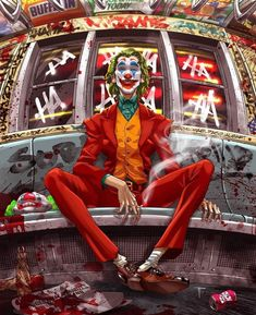 Joker® batman DC comics The beast Le Joker Batman, The Joker, Joker Comic, Joker Art, Joker And Harley Quinn, Comic Art, Joker Cartoon, Joker Clown, Batman Arkham