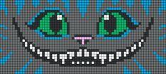 Cheshire Cat Perler Bead Pattern
