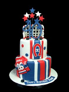awesome Habs cake