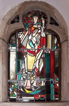 Himmelfahrt Mariae Stained Glass, Glass Art, German, Windows, Contemporary, Painting, Deutsch, German Language, Painting Art