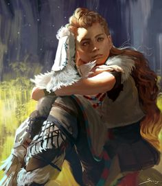 Fan art Aloy / Horizon Zero Dawn PS4 #HorizonZeroDawn